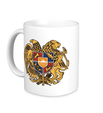Керамическая кружка Герб Армении