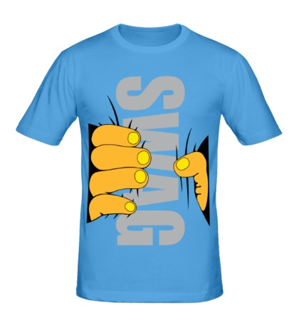 Мужская футболка SWAG hand