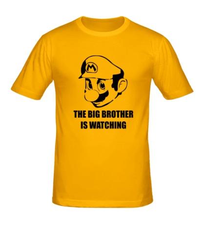 Мужская футболка Mario Big Brother