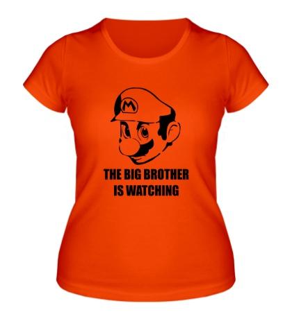 Женская футболка Mario Big Brother