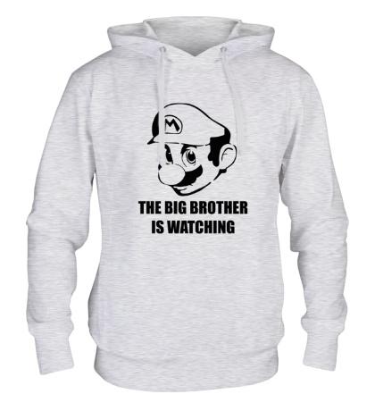 Толстовка с капюшоном Mario Big Brother