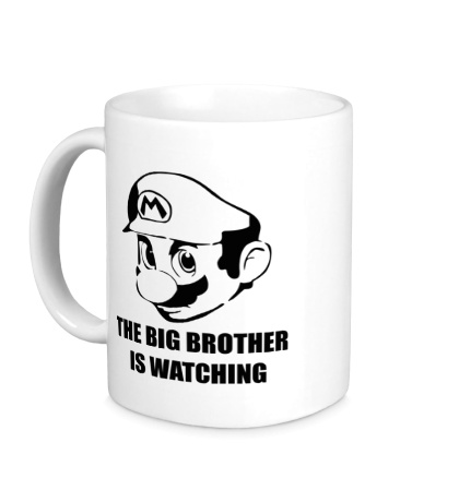 Керамическая кружка Mario Big Brother