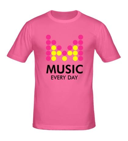 Мужская футболка Music Every Day
