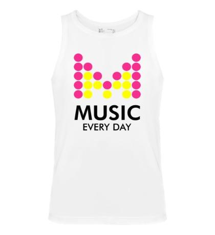 Мужская майка Music Every Day