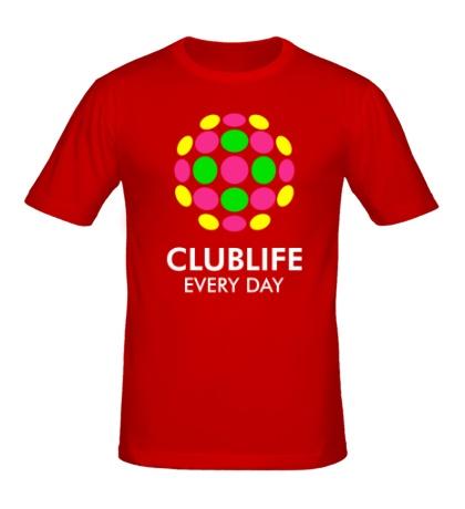 Мужская футболка Club Life Every Day