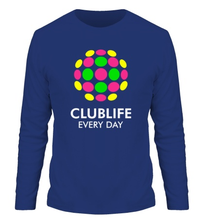 Мужской лонгслив Club Life Every Day