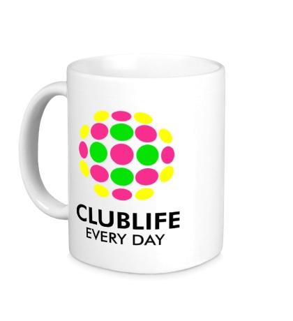 Керамическая кружка Club Life Every Day