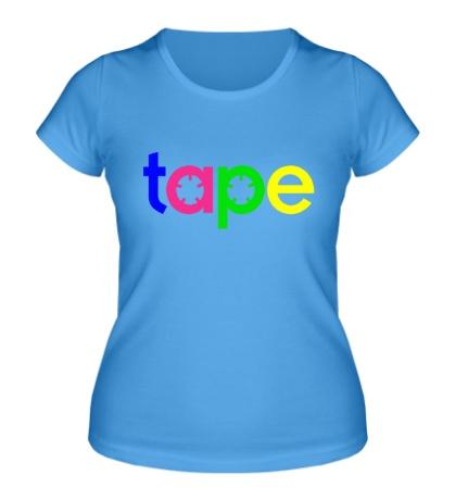 Женская футболка Tape Music