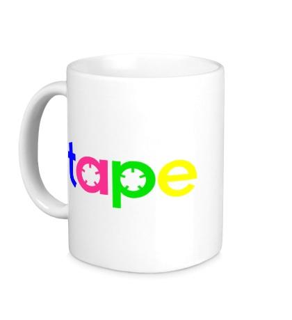 Керамическая кружка Tape Music