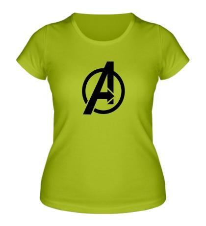 Женская футболка The Avengers Symbol