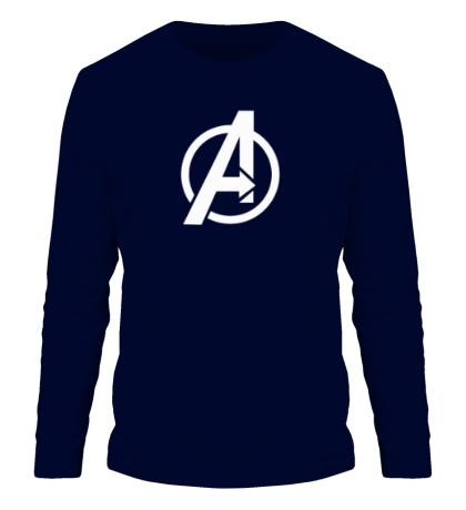 Мужской лонгслив The Avengers Symbol