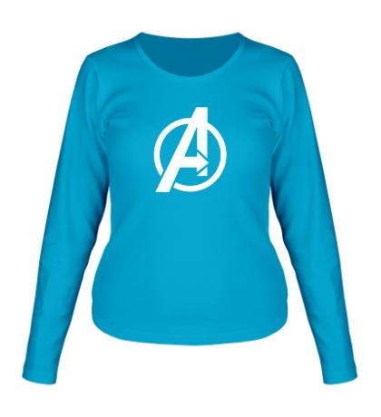 Женский лонгслив The Avengers Symbol