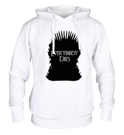 Толстовка с капюшоном Everybody Dies Throne