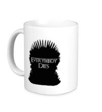 Керамическая кружка Everybody Dies Throne