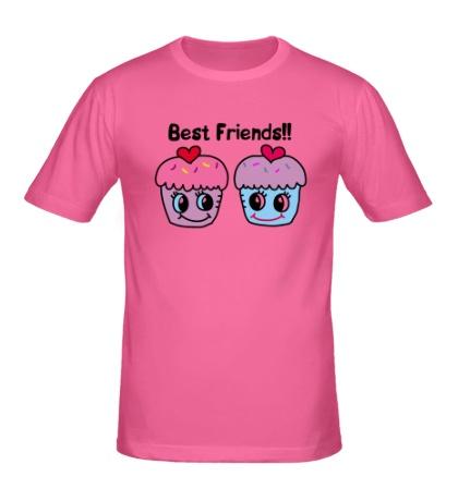 Мужская футболка Best Friends