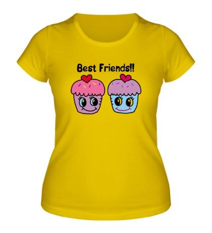 Женская футболка Best Friends