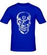 Мужская футболка «Череп тамплиера, свет» - Фото 1