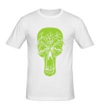 Мужская футболка Старенький череп
