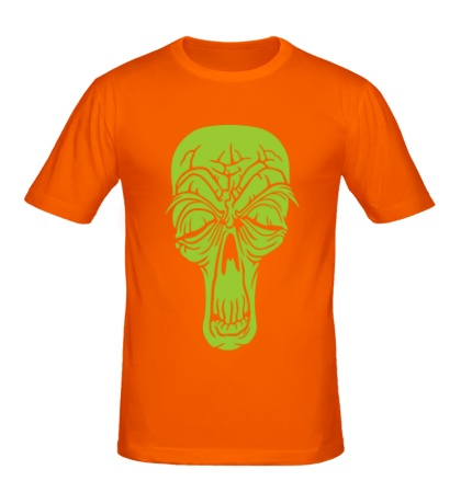 Мужская футболка «Старенький череп»