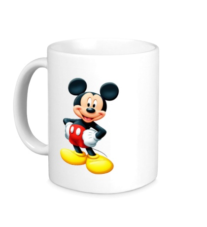 Керамическая кружка Mickey Mouse