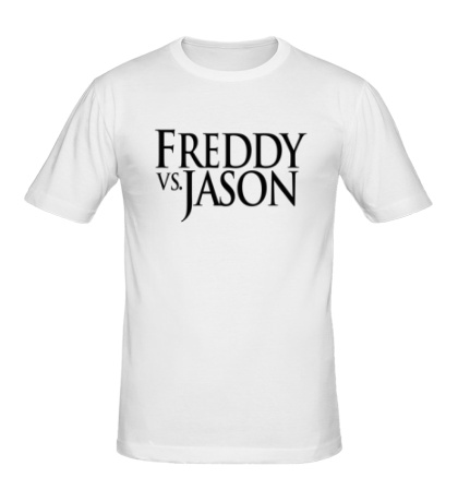 Мужская футболка Freddy vs Jason