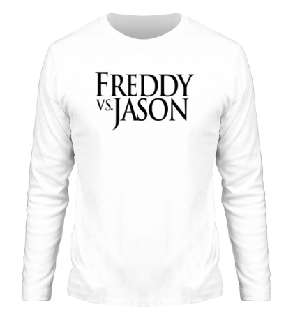 Мужской лонгслив Freddy vs Jason