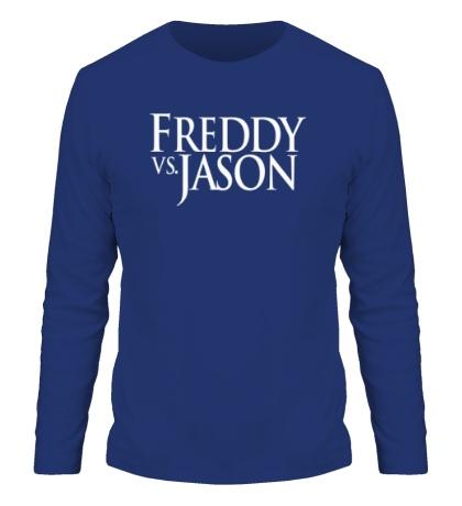 Мужской лонгслив Freddy vs Jason