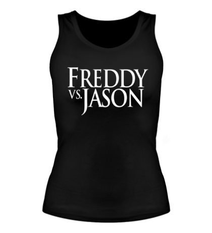 Женская майка Freddy vs Jason