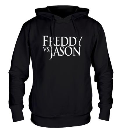 Толстовка с капюшоном Freddy vs Jason