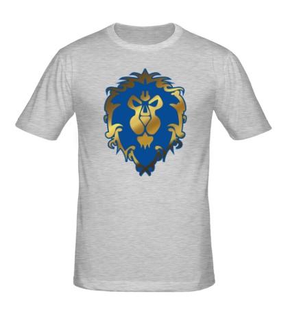 Мужская футболка WoW: Alliance