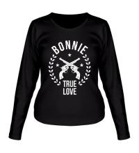 Женский лонгслив Bonnie, true love