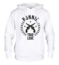 Толстовка с капюшоном Bonnie, true love