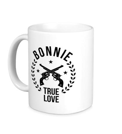 Керамическая кружка Bonnie, true love