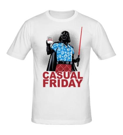 Мужская футболка Casual friday white