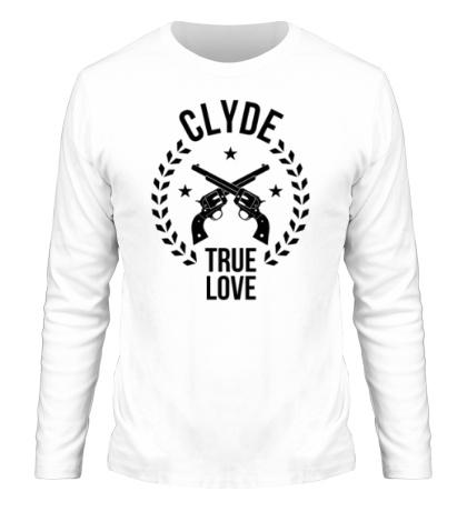 Мужской лонгслив Clyde, true love