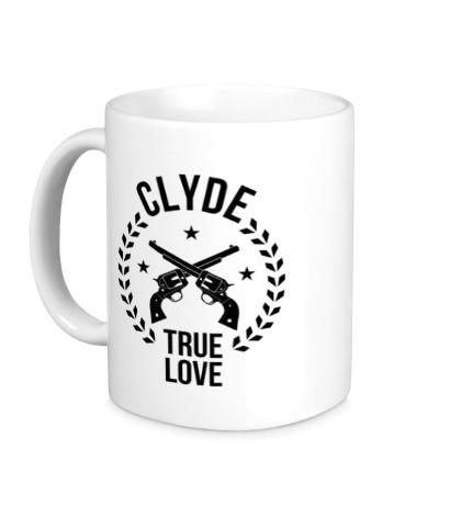 Керамическая кружка Clyde, true love