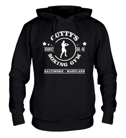 Толстовка с капюшоном Cuttys Boxing Gym