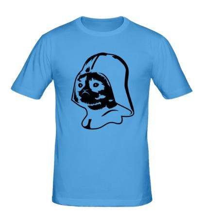 Мужская футболка Darth Vader Grumpy Cat