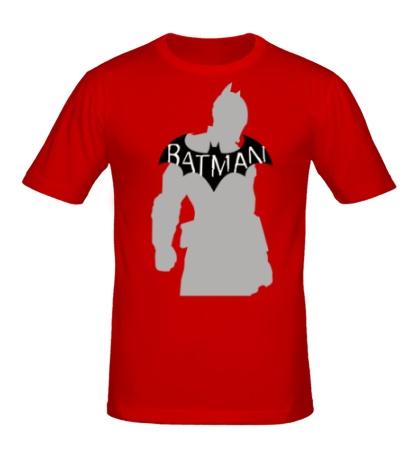 Мужская футболка Силуэт Бэтмена