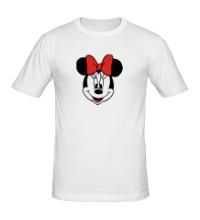 Мужская футболка Лицо Минни Маус