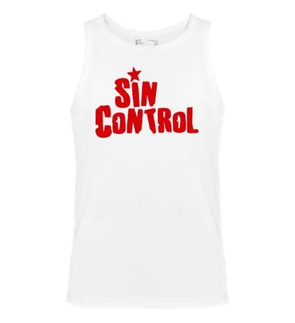 Мужская майка Sin Control