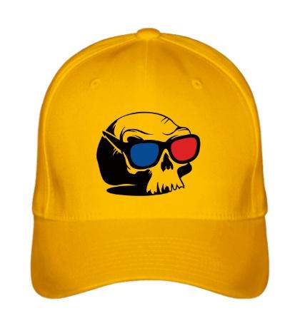 Бейсболка Череп в 3D очках