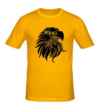 Мужская футболка Голова орла