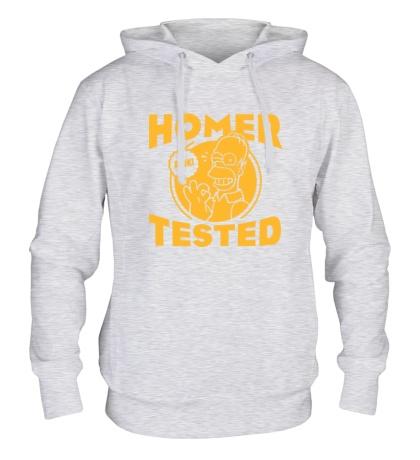 Толстовка с капюшоном Homer tested