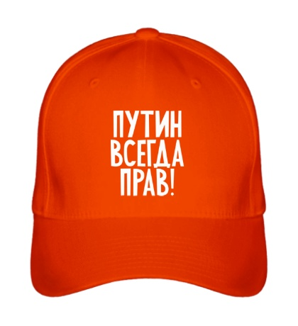 Бейсболка Путин прав