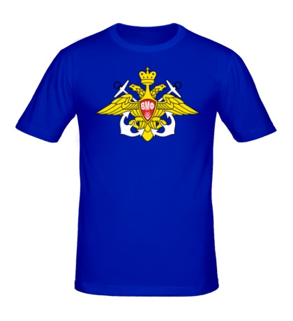 Мужская футболка Герб ВМФ России