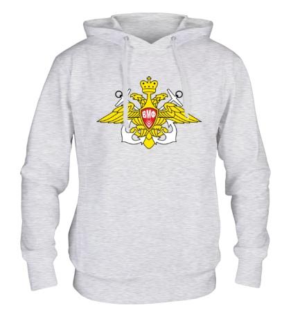 Толстовка с капюшоном Герб ВМФ России