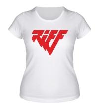Женская футболка Riff Rock