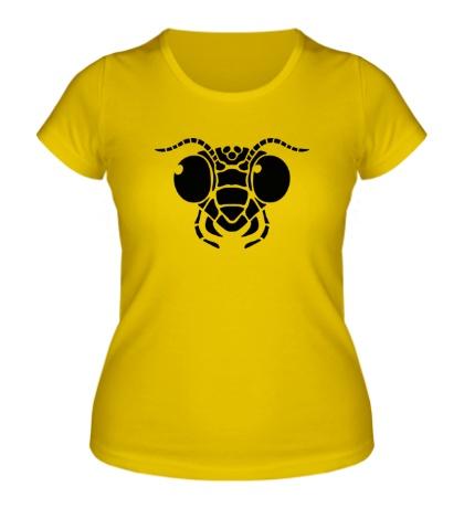 Женская футболка Голова муравья