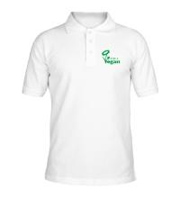 Рубашка поло I am a vegan